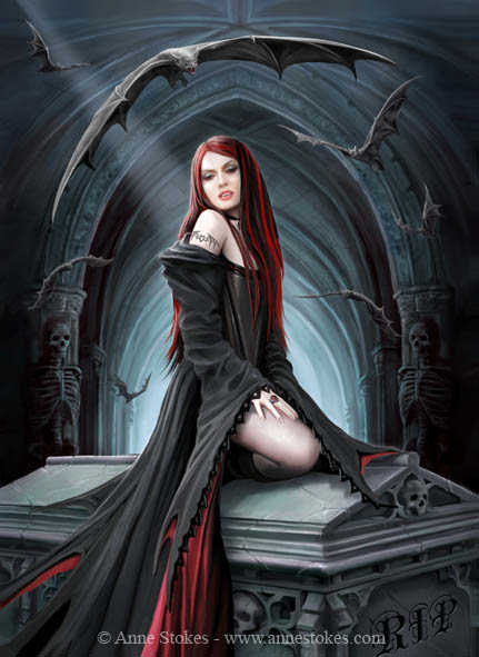 Await the Night_by Anne Stokes